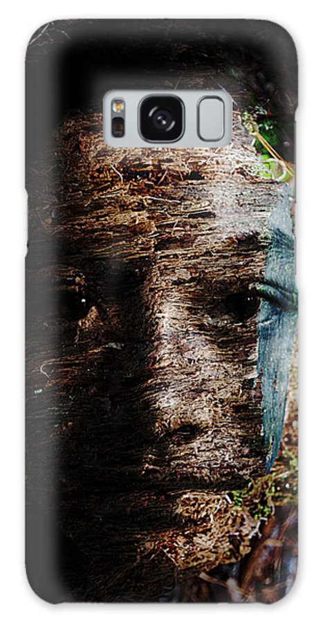 Tree Galaxy S8 Case featuring the painting Waldgeist by Christopher Gaston