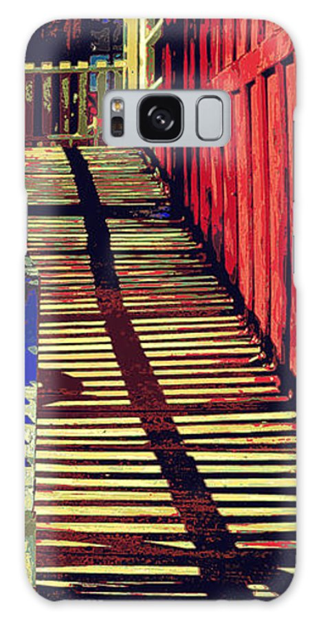 Boardwalk Galaxy S8 Case featuring the photograph Walk This Way by Diane montana Jansson