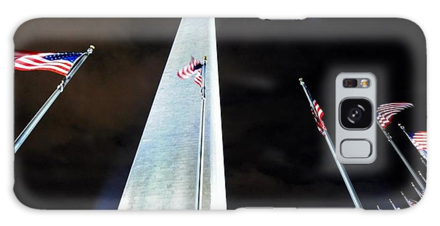 Galaxy S8 Case featuring the photograph Washington Monument by Don Mennig