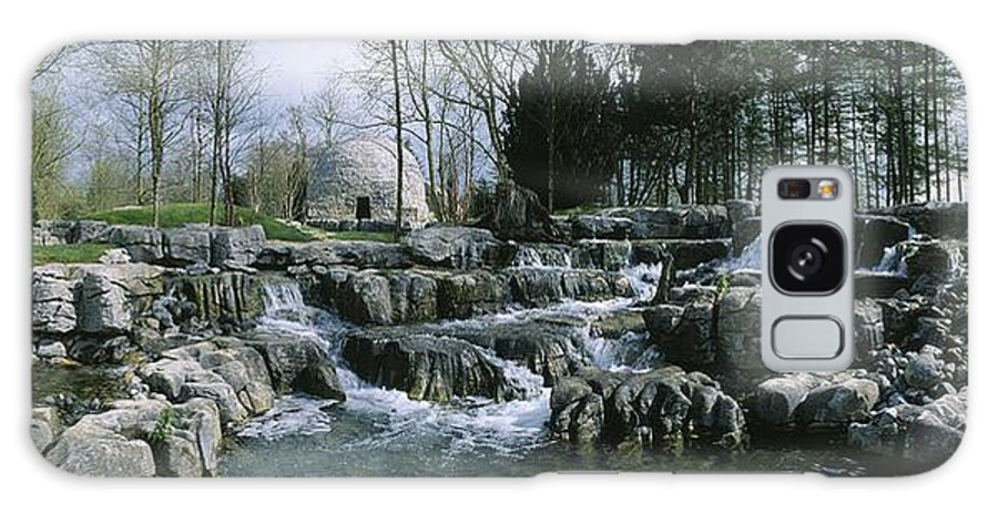 Bog Galaxy S8 Case featuring the photograph Water Flowing In A Garden, St. Fiachras by The Irish Image Collection