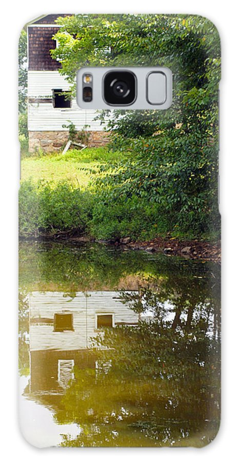 Farm Animals Galaxy S8 Case featuring the photograph Water Reflections by Robert Margetts