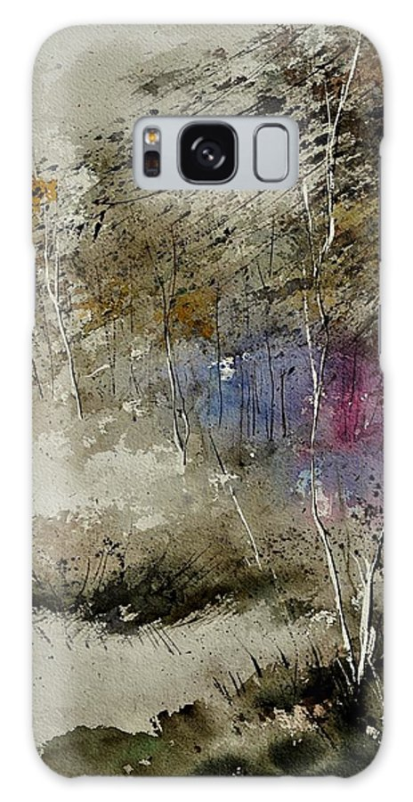 Landscape Galaxy S8 Case featuring the painting Watercolor 110122 by Pol Ledent