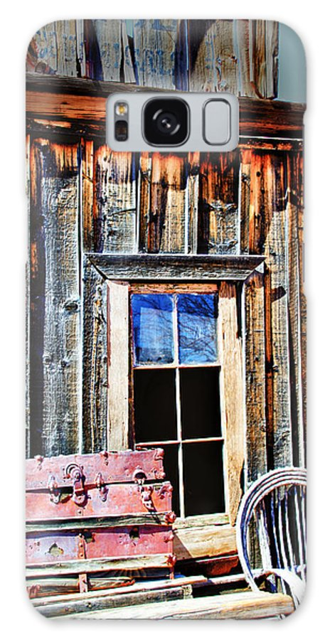 Goldfieldghosttown Galaxy S8 Case featuring the photograph Weathered by Diane Wood