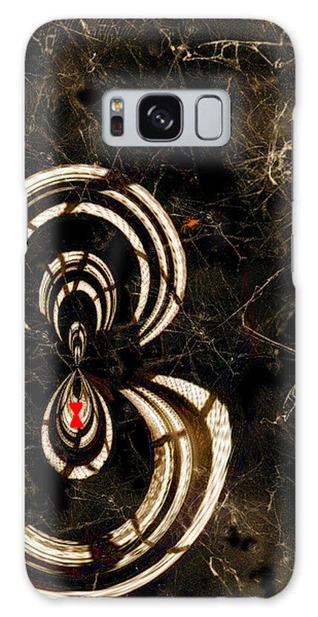 Paula Ayers Galaxy S8 Case featuring the digital art Web Mistress by Paula Ayers