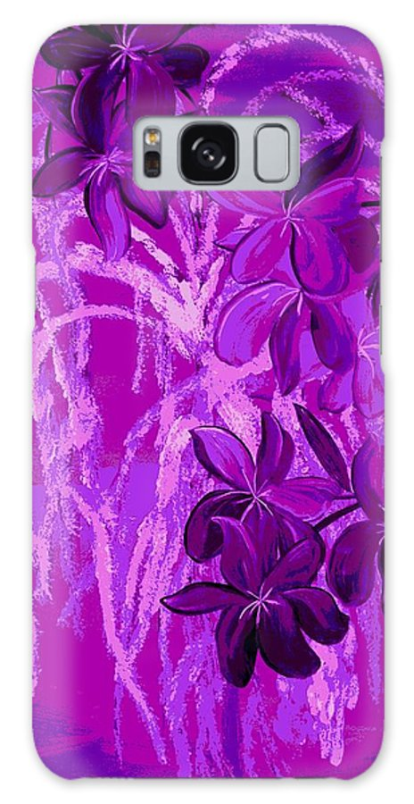 Floral Galaxy S8 Case featuring the digital art Weeping Exposed by Mark Moore