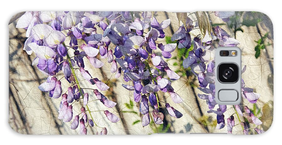 Wisteria Galaxy S8 Case featuring the photograph Weeping Wisteria by Andee Design