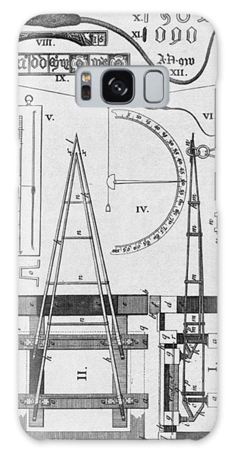 Illustration Galaxy S8 Case featuring the photograph Weighbridge And Hygrometer, 18th Century by Middle Temple Library