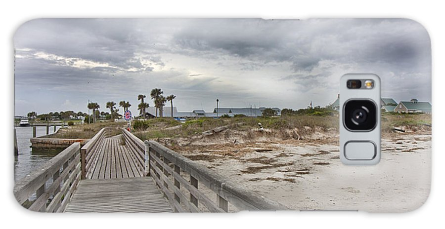 Bald Galaxy S8 Case featuring the photograph Welcome To Bald Head Island by Betsy Knapp