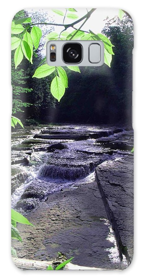 Falls Galaxy S8 Case featuring the photograph Whitaker Falls Ny by Dennis Comins