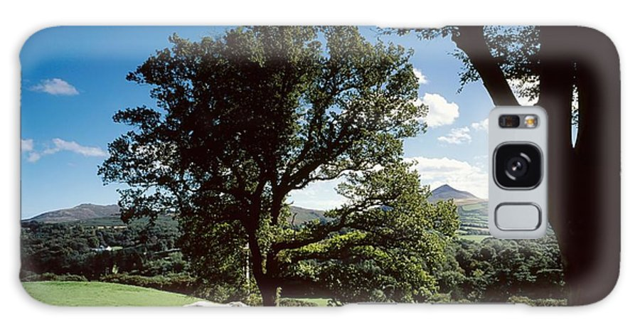 Enniskerry Galaxy S8 Case featuring the photograph White Horse At Powerscourt, Co Wicklow by The Irish Image Collection