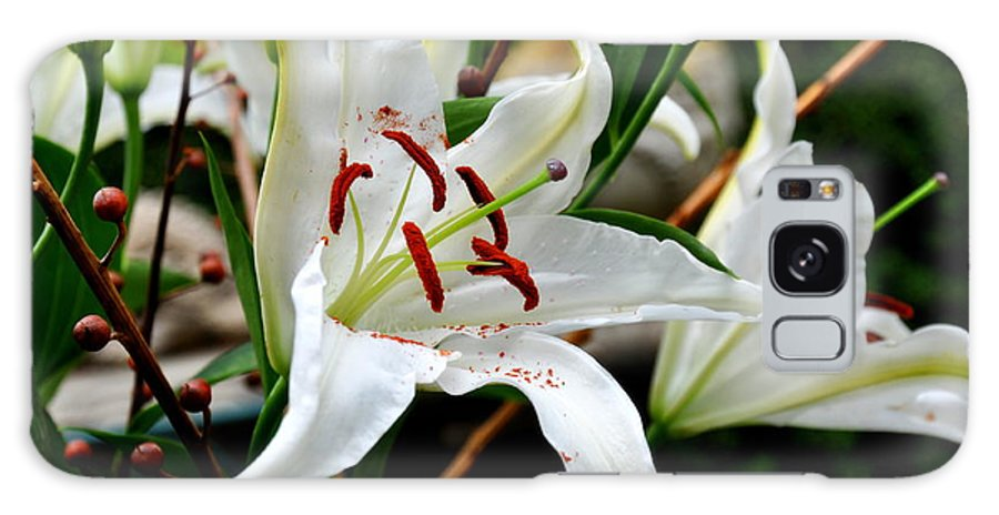 Lily Galaxy S8 Case featuring the photograph Mother's Day Lilies by Tanya Searcy
