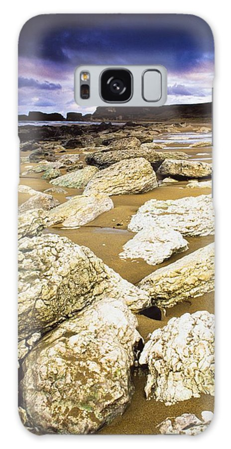 Day Galaxy S8 Case featuring the photograph White Park Bay, County Antrim, Ireland by The Irish Image Collection