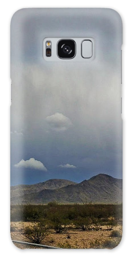 White Tank Mountains Galaxy S8 Case featuring the photograph White Tank Mountains by Methune Hively
