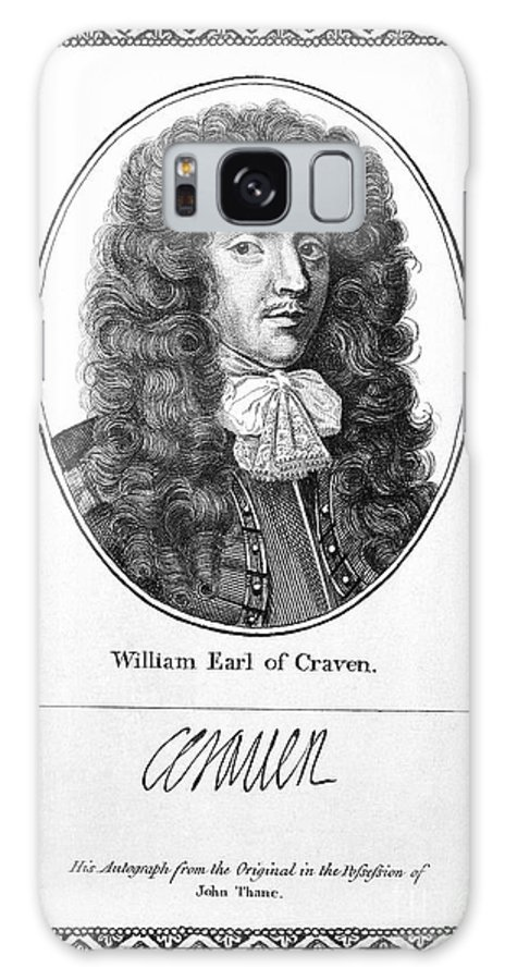 1st Galaxy S8 Case featuring the photograph William Craven (1608-1697) by Granger