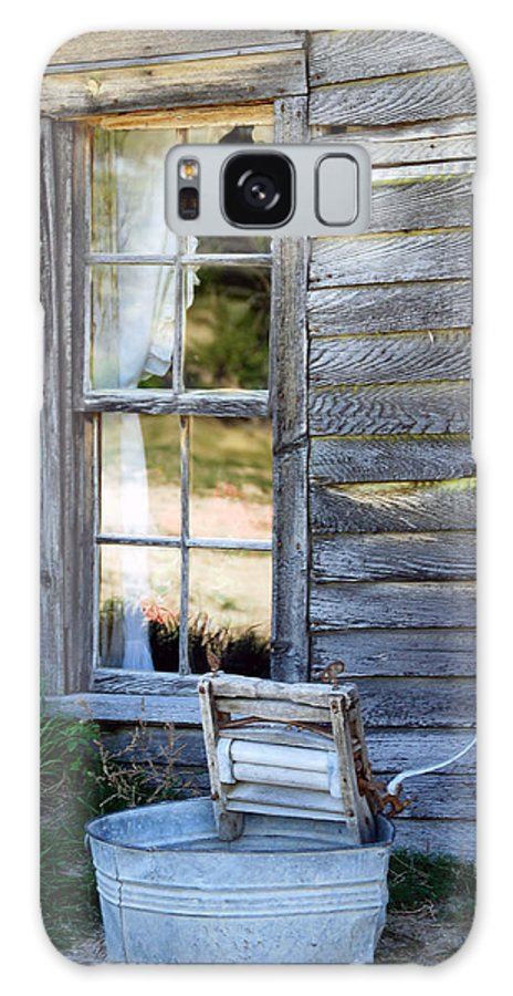 Window Galaxy S8 Case featuring the photograph Window On Prairie Life by Judy Hall-Folde