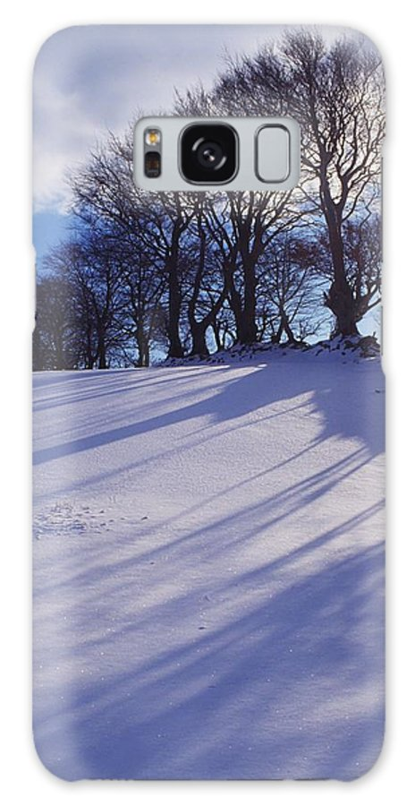 Beauty In Nature Galaxy S8 Case featuring the photograph Winter Landscape by The Irish Image Collection