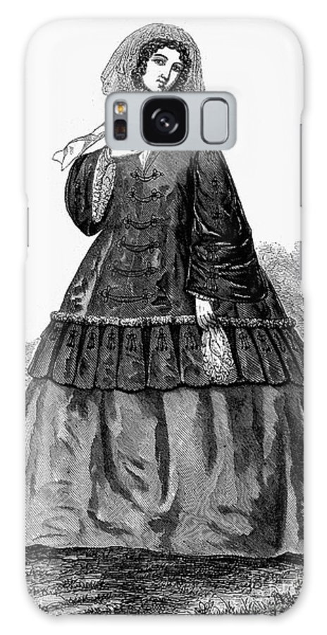 1850s Galaxy S8 Case featuring the photograph Womens Fashion, C1850s by Granger