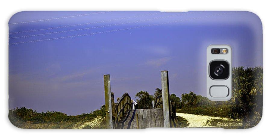 Bridge Galaxy S8 Case featuring the photograph Wooden Bridge by Madeline Ellis