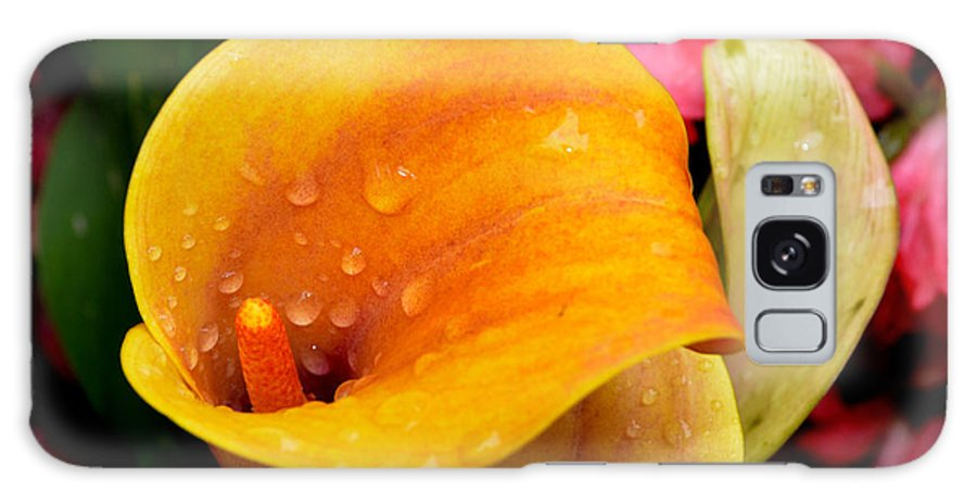 Calla Lily Galaxy S8 Case featuring the photograph Yellow Calla Lily by Pravine Chester