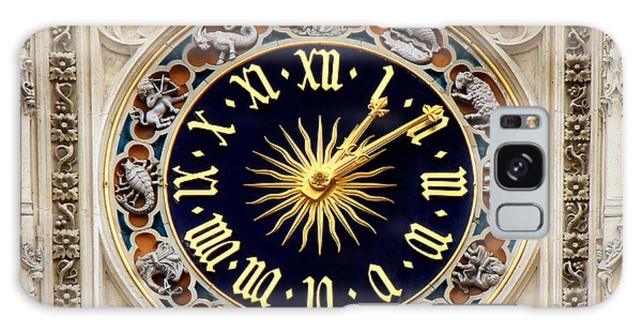 Zodiac Galaxy S8 Case featuring the photograph Zodiac Clock by Andrew Fare