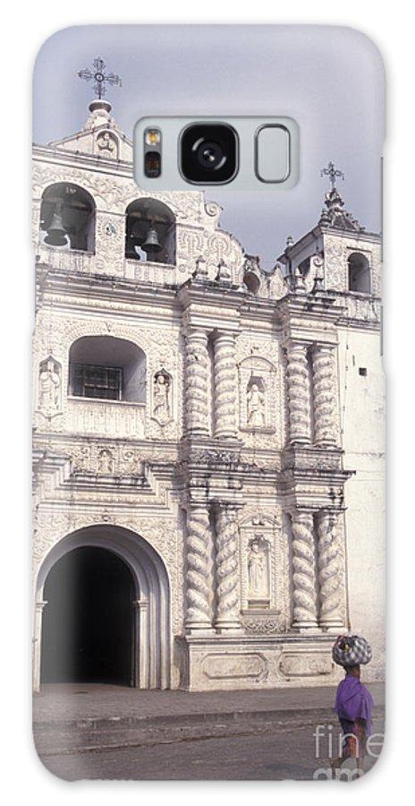 Guatemala Galaxy S8 Case featuring the photograph Zunil Church Guatemala by John Mitchell