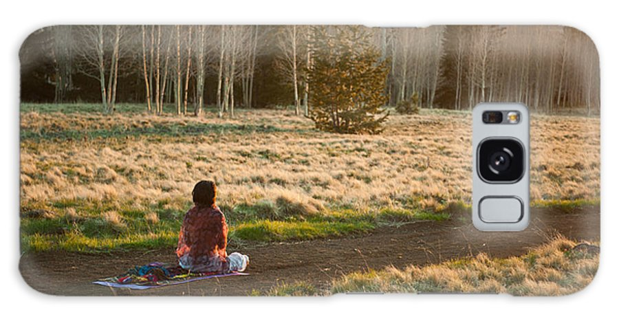 Meditation Galaxy S8 Case featuring the photograph Contemplative Meditation by Scott Sawyer