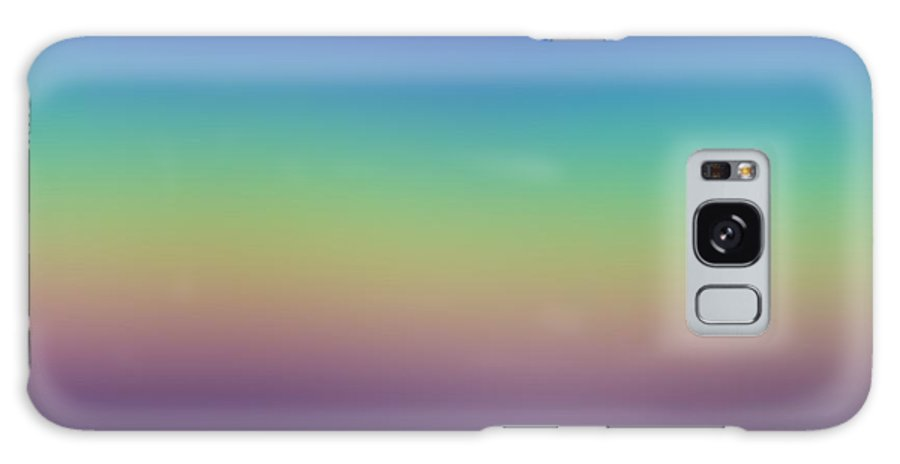 Evening.colors.silince.rest.sky.sea.clean Sky.violet.blue.yellow.rose.darkness. Galaxy S8 Case featuring the digital art Evening by Dr Loifer Vladimir