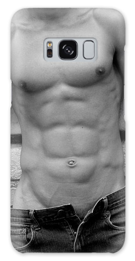 Nude Galaxy Case featuring the photograph Male Abs by Mark Ashkenazi