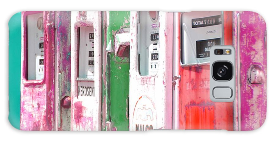 Old Gas Pumps Galaxy S8 Case featuring the photograph Old Gas Pumps by Kerry Gallagher