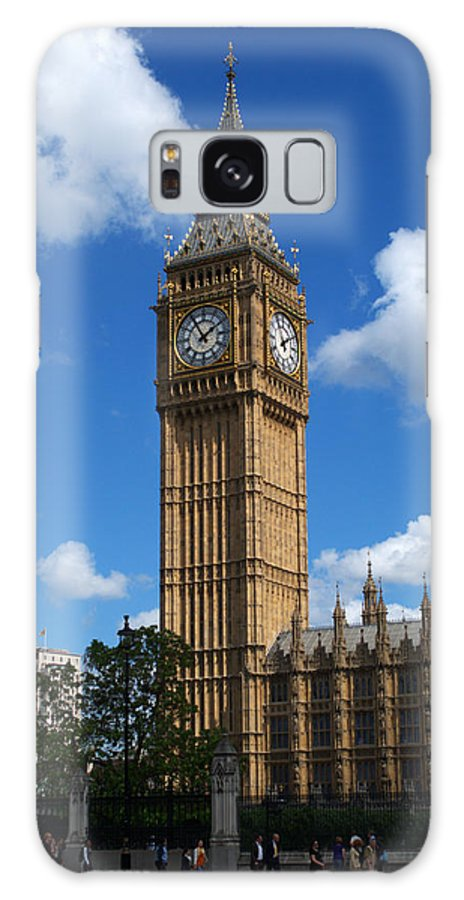Big Ben Galaxy S8 Case featuring the photograph Palace Of Westminster by Chris Day