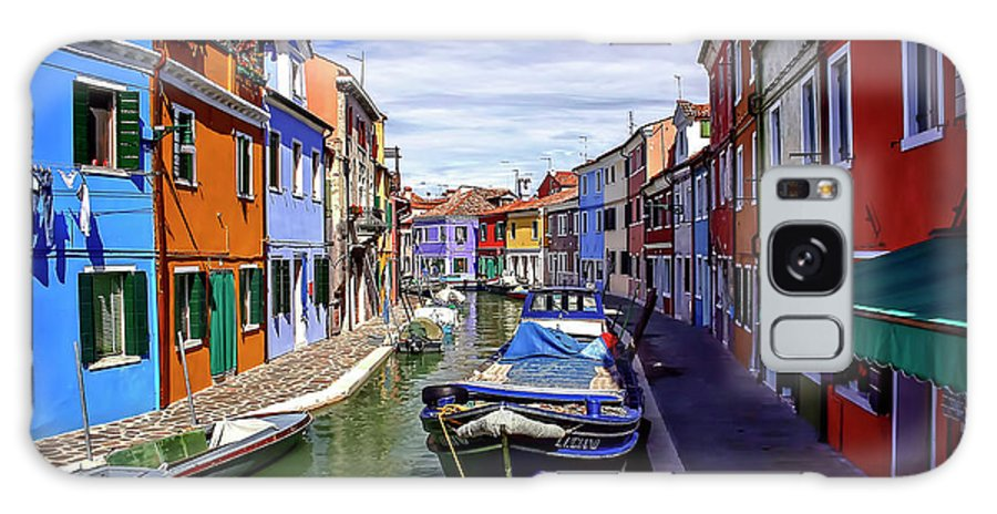 Burano Galaxy S8 Case featuring the photograph 0045 Burano Colors 2 by Steve Sturgill