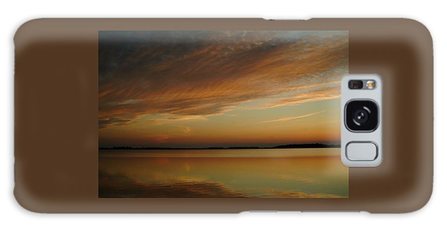 Sunset Galaxy S8 Case featuring the photograph 060309-59  Reflections II by Mike Davis