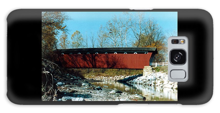 Bridge Galaxy S8 Case featuring the photograph 072106-31 by Mike Davis