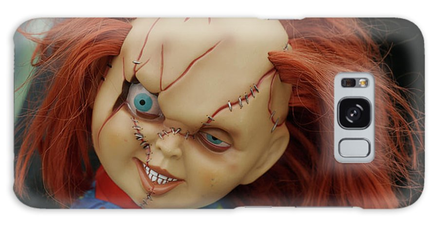 Frankenstein Galaxy S8 Case featuring the photograph Chucky's Back by Carl Purcell