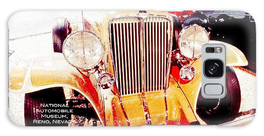 1933 Auburn Galaxy S8 Case featuring the digital art 1933 Auburn Classic Automobile by A Gurmankin