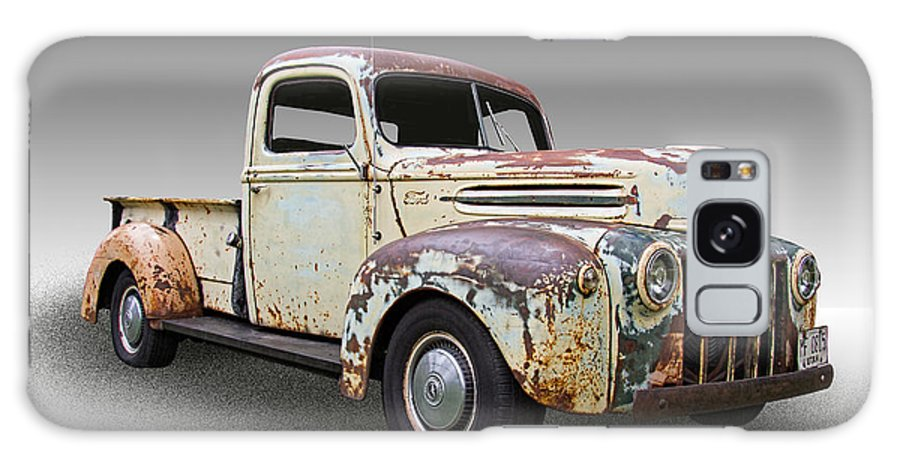 1946 Galaxy S8 Case featuring the photograph 1946 Ford Pickup Truck by Nick Gray