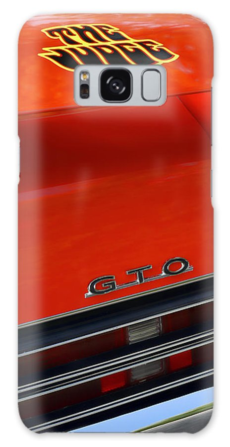 1967 Galaxy S8 Case featuring the photograph 1969 Pontiac Gto The Judge by Gordon Dean II