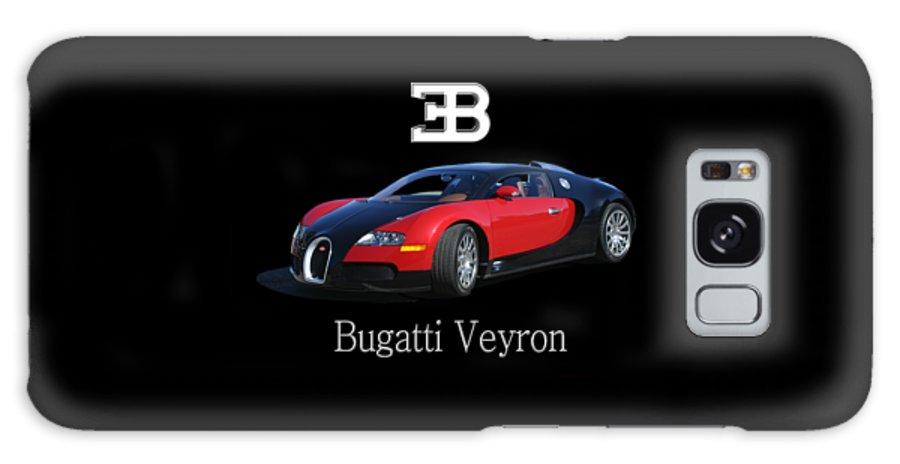 Tee Shirt Photo Art Of A 2010 Bugatti-veyron Galaxy S8 Case featuring the painting 2010 Bugatti Veyron by Jack Pumphrey