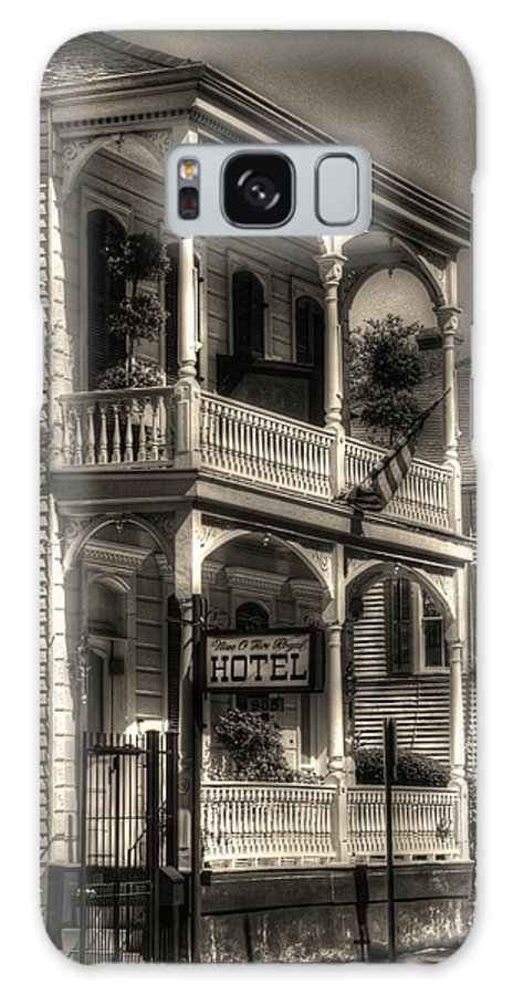 New Orleans French Quarter Galaxy S8 Case featuring the photograph 905 Royal Hotel by Greg and Chrystal Mimbs