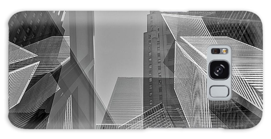 Abstract Photography Galaxy S8 Case featuring the photograph Abstract Architecture - Toronto Financial District by Shankar Adiseshan
