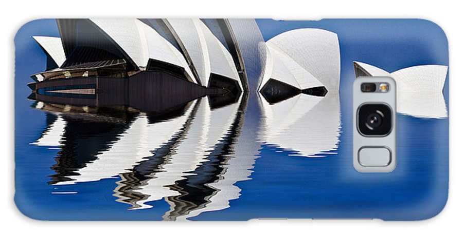 Sydney Opera House Galaxy Case featuring the photograph Abstract of Sydney Opera House by Sheila Smart Fine Art Photography