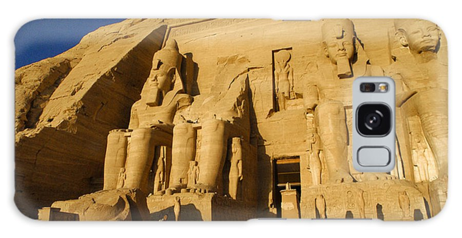 Egypt Galaxy S8 Case featuring the photograph Abu Simbel by Michele Burgess