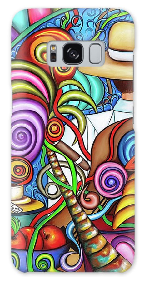 Cuba Galaxy Case featuring the painting Always by Annie Maxwell