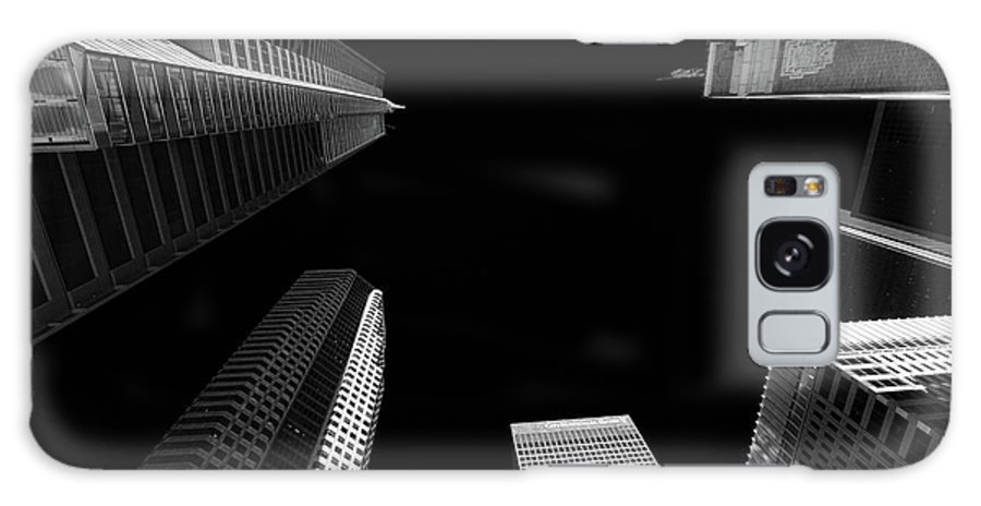 Architecture Galaxy S8 Case featuring the photograph Architecture Black White by Chuck Kuhn