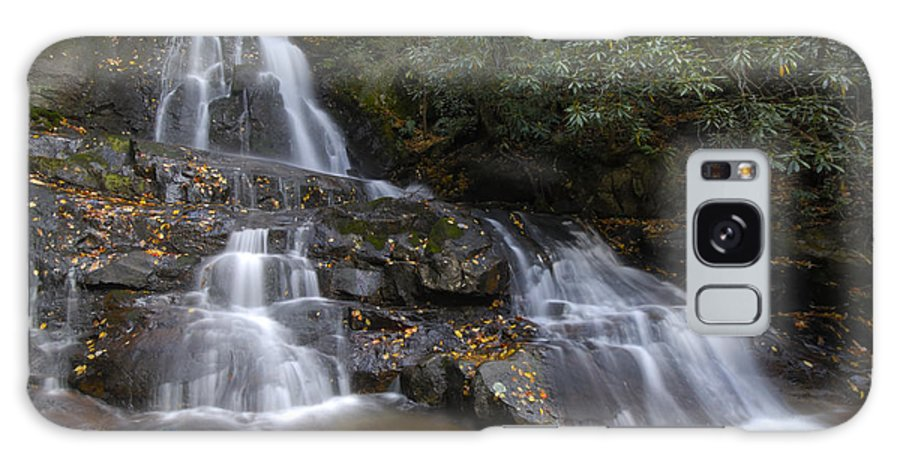 Laurel Falls Galaxy S8 Case featuring the photograph Autumn At Laurel Falls by Darrell Young