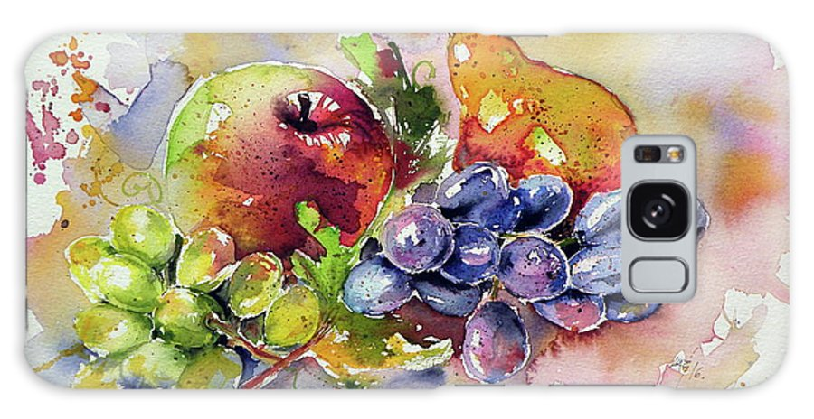Autumn Galaxy S8 Case featuring the painting Autumn Still Life by Kovacs Anna Brigitta