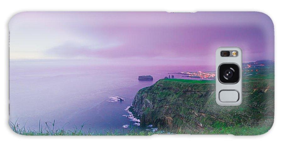 Azoren Galaxy Case featuring the photograph Azores Coastal Landscape by Gaspar Avila
