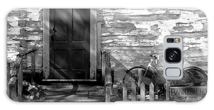 Old Galaxy S8 Case featuring the photograph Bannish Home - 1900's by R J Ruppenthal