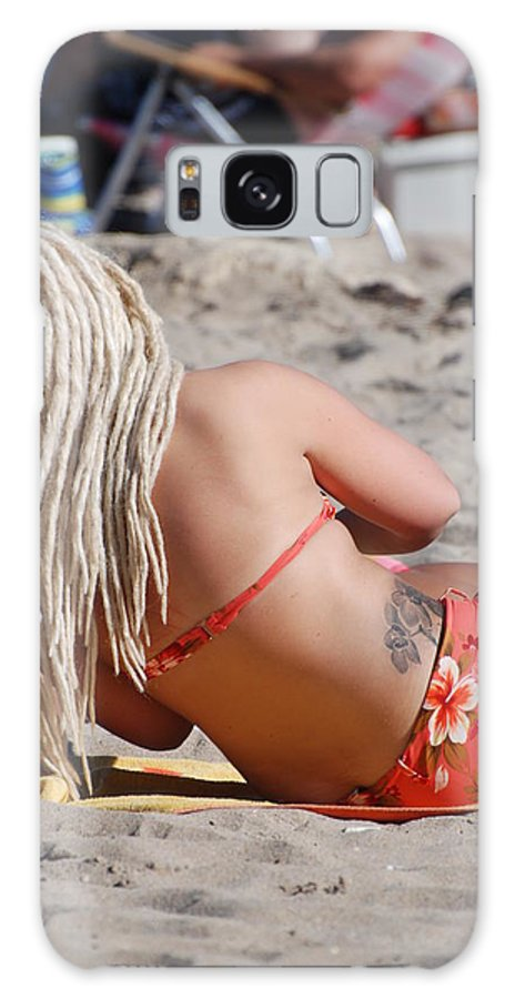 Girls Galaxy S8 Case featuring the photograph Blondie Braids by Rob Hans