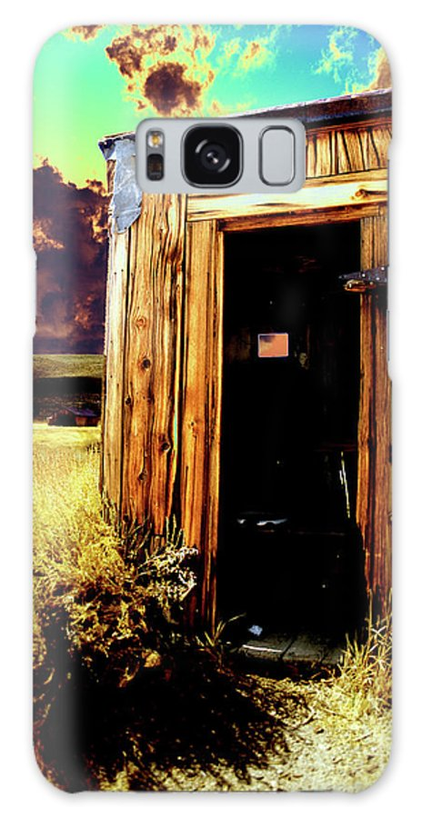 Bodie Galaxy S8 Case featuring the photograph Bodie Outhouse by Jim And Emily Bush